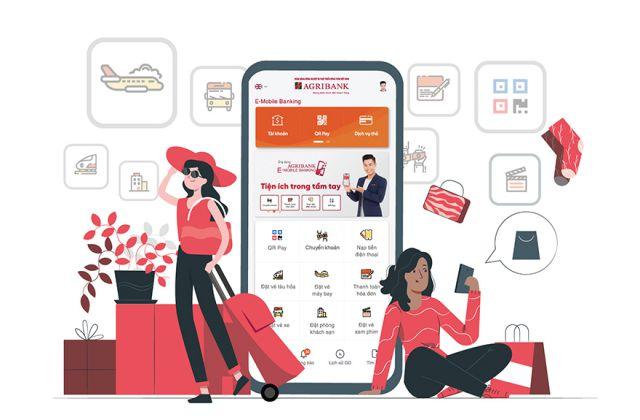 Agribank E Mobile Banking có chuyển khoản cho ngân hàng khác được không