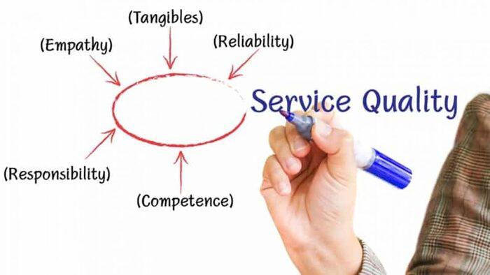 Chỉ tiêu phản ánh chất lượng dịch vụ